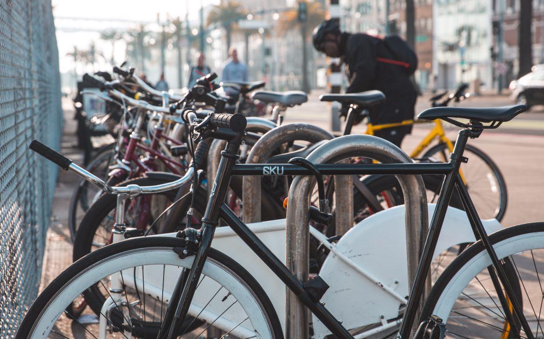 Een fiets voor transport