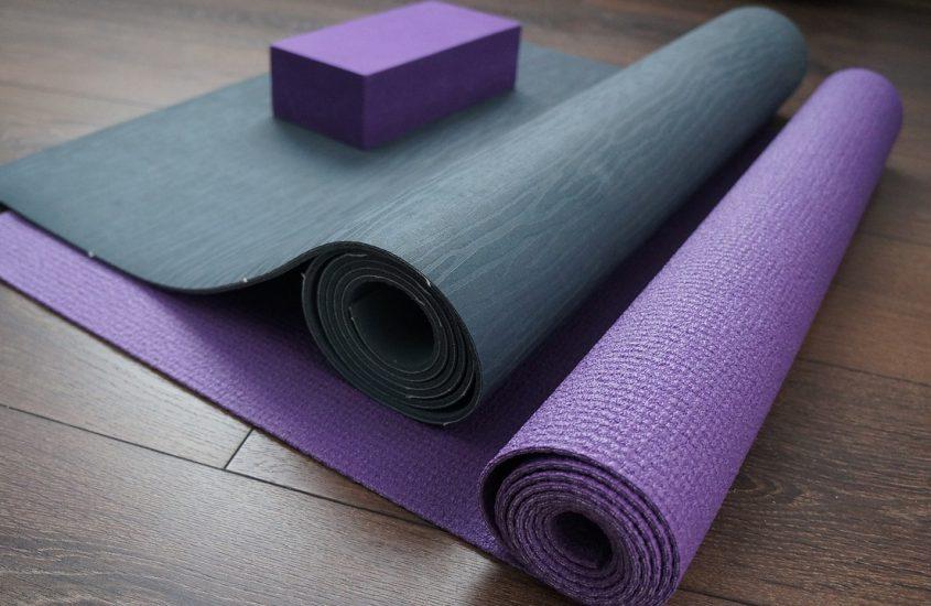 Een yogamat kopen
